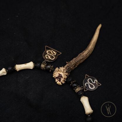 ⋮ Third Horn ⋮ Bone Necklace