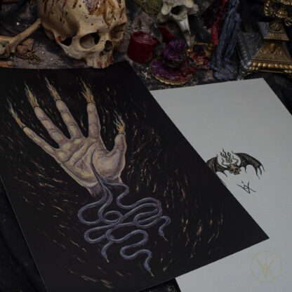Visions from the Abyss ⋮ Artprint