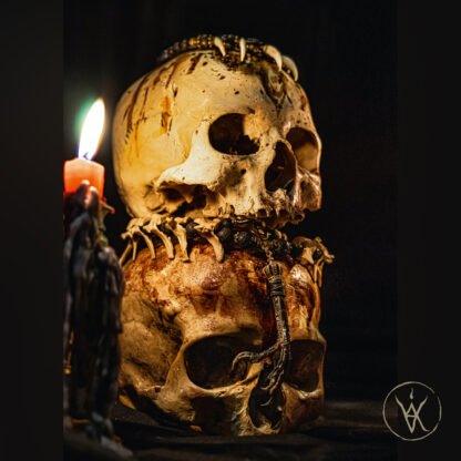Skull Tower Print - Vika Imago mortis